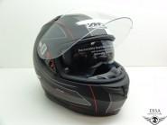 MT Integral Helm Blade Raceline Matt Schwarz Rot Weiss   Gr. M