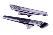 Hercules Prima M 2 3 4 5 S Seitenverkleidung Deckel Trittbrett Rahmen NEU *