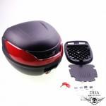 Topcase 32L Top Case schwarz Universal Roller Quad Motorrad Touring Koffer NEU *