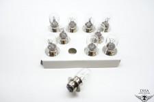 10 Stück 6V 20/20W P15D Scheinwerfer Glühlampe Birne Yamaha FS1 DX NEU *