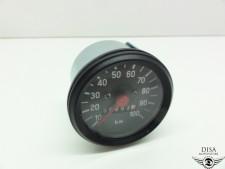 60 mm Tuning Tacho 100 km/h Mofa Moped Mokick Zündapp Kreidler Hercules NEU *