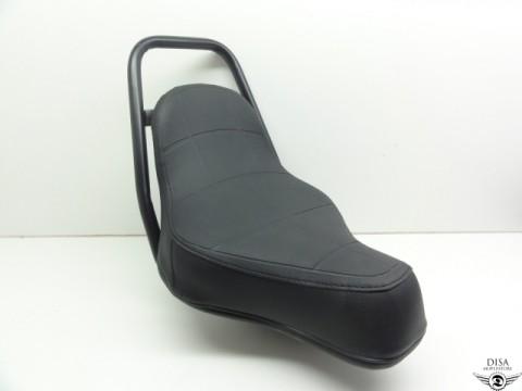 puch maxi chopper sattel schwarz neu disa mopedstore. Black Bedroom Furniture Sets. Home Design Ideas