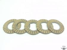 Kupplungslamellen ca. 3,5mm für Reibscheiben für Hercules Sachs 50 4 5 6 NEU *