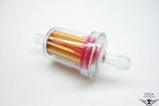 Benzinfilter 6mm rund für Zündapp Bergsteiger M25 M50 NEU * NEU *