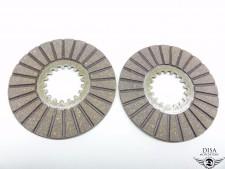 Kupplungslamellen ca. 5mm Reibscheiben für Hercules Sachs 50 2 3 4 Gang NEU *