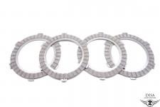 Kupplungslamellen Reiblamellen 4 Stück für Zündapp R50 R 50 NEU *