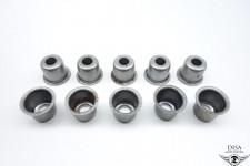 Kupplungsfedern Hülse Buchse 10 Stück für Zündapp Bergsteiger M25 M50 NEU *