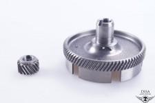 Kupplungskorb mit Ritzel Primär Antrieb für Zündapp R50 R 50 NEU *
