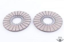 Kupplungslamellen ca.4mm Reibscheiben für Hercules Sachs 50 2 3 4 Gang NEU *
