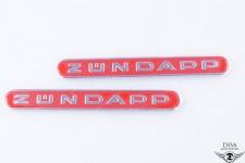 Tank Emblem Sticker Aufkleber Rot Zündapp GTS KS C 50 Moped Mokick NEU *