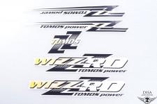 Tomos Aufkleber Sticker Set WIZZARD Classic Dekor Satz Mofa Mokick NEU *