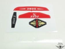 Aufkleber Rahmen Tank Dekor Satz Sticker für Velosolex Velo Solex NEU *