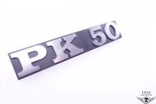 Piaggio Vespa PK 50 V5X1T Seitendeckel Emblem Logo Plakette NEU *