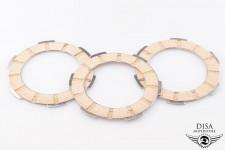 Kupplungsbeläge Set 3 Stück Kupplungslamellen für Piaggio Vespa APE NEU *