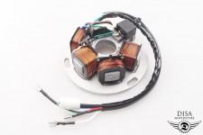 Lichtmaschine komplett Piaggio Vespa PX 80 125 150 200 E Lusso FL Elestart NEU *