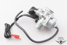 Vergaser 17,5mm komplett mit E-Choke für Peugeot Kisbee 2-Takt NEU *