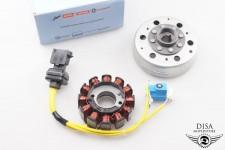 Vespa Vespa ET 4 125 Lichtmaschine mit Polrad Zündung Orignal NEU *