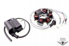 Lichtmaschine + CDI Zündspule Piaggio ZIP SSL RST FR Fast Rider SP 2-Takt NEU *