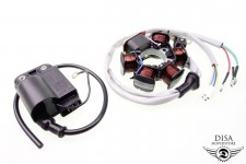 Lichtmaschine + CDI Zündspule Piaggio Vespa ET2 ET 2-Takt NEU *