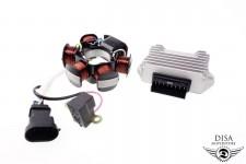 Spannungsregler Laderegler + Lichtmaschine Zündung Piaggio NRG Power NEU *