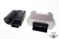 Zündspule CDI + Gleichrichter Regler Vespa LX 50 S NEU *