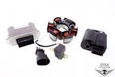 Zündspule CDI + Lichtmaschine + Gleichrichter Vespa LX 50 2-Takt NEU *