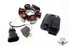 Zündspule CDI + Lichtmaschine Piaggio NRG Vespa LX 50 NEU *