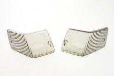 Blinkergläser hinten Schwarz 2 Stück Blinkerglas Set für Piaggio Vespa PX NEU *