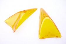 Blinkerglas Set Satz hinten Blinker Glas orange Peugeot Speedfight NEU *
