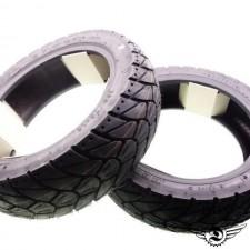 120/70-12 + 130/70-12 M+S Winter Reifen Satz Peugeot Speedfight 2 50 K415 NEU *