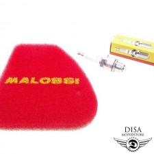 Luftfilter Malossi + Zündkerze NGK BR7HS für Peugeot Speedfight 1 und 2 NEU *