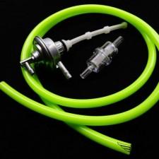 Benzinhahn + Benzinfilter + Benzinschlauch grün Peugeot Speedfight 1 2 NEU