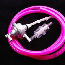 Benzinhahn + Benzinfilter + Benzinschlauch pink Piaggio TPH Sfera NRG NEU *