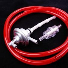 Benzinhahn + Benzinfilter + Benzinschlauch rot Peugeot Speedfight 1 2 NEU *