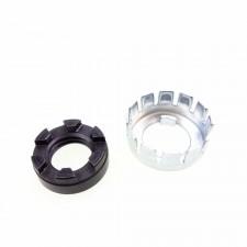 Kupplungsmutter Kronenmutter Sicherung für Piaggio Vespa PX NEU *