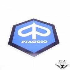 Aufkleber Emblem Logo Plakette Sticker 42x48 für Piaggio Vespa APE NEU *