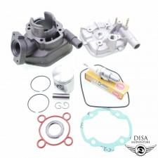 50ccm Standard Zylinder Kit für Peugeot Speedfight 1 2 LC mit Zündkerze NEU *