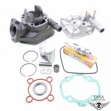 50ccm Standard Zylinder Kit für Peugeot Speedfight 1 2 LC Zündkerze Lager NEU *