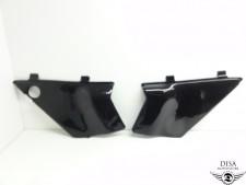 Honda MT 5 8 50 80 Seiten Deckel Verkleidung schwarz Seitenverkleidung NEU *