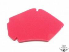 Piaggio Zip 2 4Takt Luftfilter Einsatz Matte Filter Rot NEU *