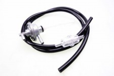 Benzinhahn + Benzinfilter + Benzinschlauch schwarz Piaggio SKR Zip SSL NEU *