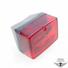Rücklicht klein Schwarz für Motobecane Mobylette MBK Minimoby N140 N151 NEU *