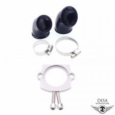 Ansaugstutzen Set 24mm und 32mm für Piaggio Zip 2 NEU *