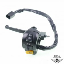 Armatur links Lenkerschalter Hupe Blinker Licht für Peugeot Kisbee NEU *