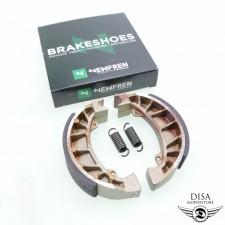 Bremsbacken Bremsbeläge von Newfren 110x25 für Piaggio TPH 50 NEU *