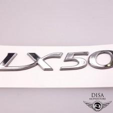 Piaggio Vespa LX 50 Chrom Emblem Sticker Aufkleber Logo NEU *