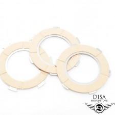 Kupplungsbeläge Set 3 Stück Kupplungslamellen für Piaggio Vespa PX NEU *