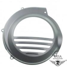 Lüfterradabdeckung Schwarz Motorverkleidung für Piaggio Vespa PX NEU *