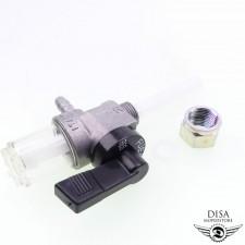 Benzinhahn mit Vorfilter M12x1 von OMG für Zündapp CS 25 50 NEU *