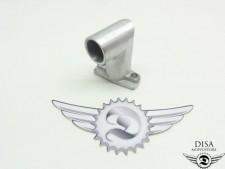 Ansaugstutzen 20mm für Puch Maxi Vergaser NEU *